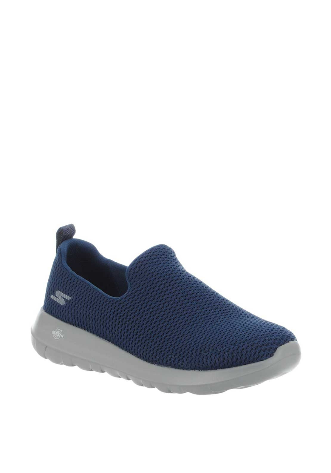 enjoy lowest price discount shop info for Skechers Men's Goga Max Trainers, Navy