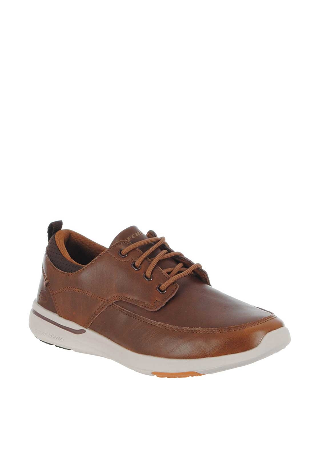27a9d514d85 Skechers Men's Relaxed Leather Trainers, Chocolate Brown. Be the first to  review this product