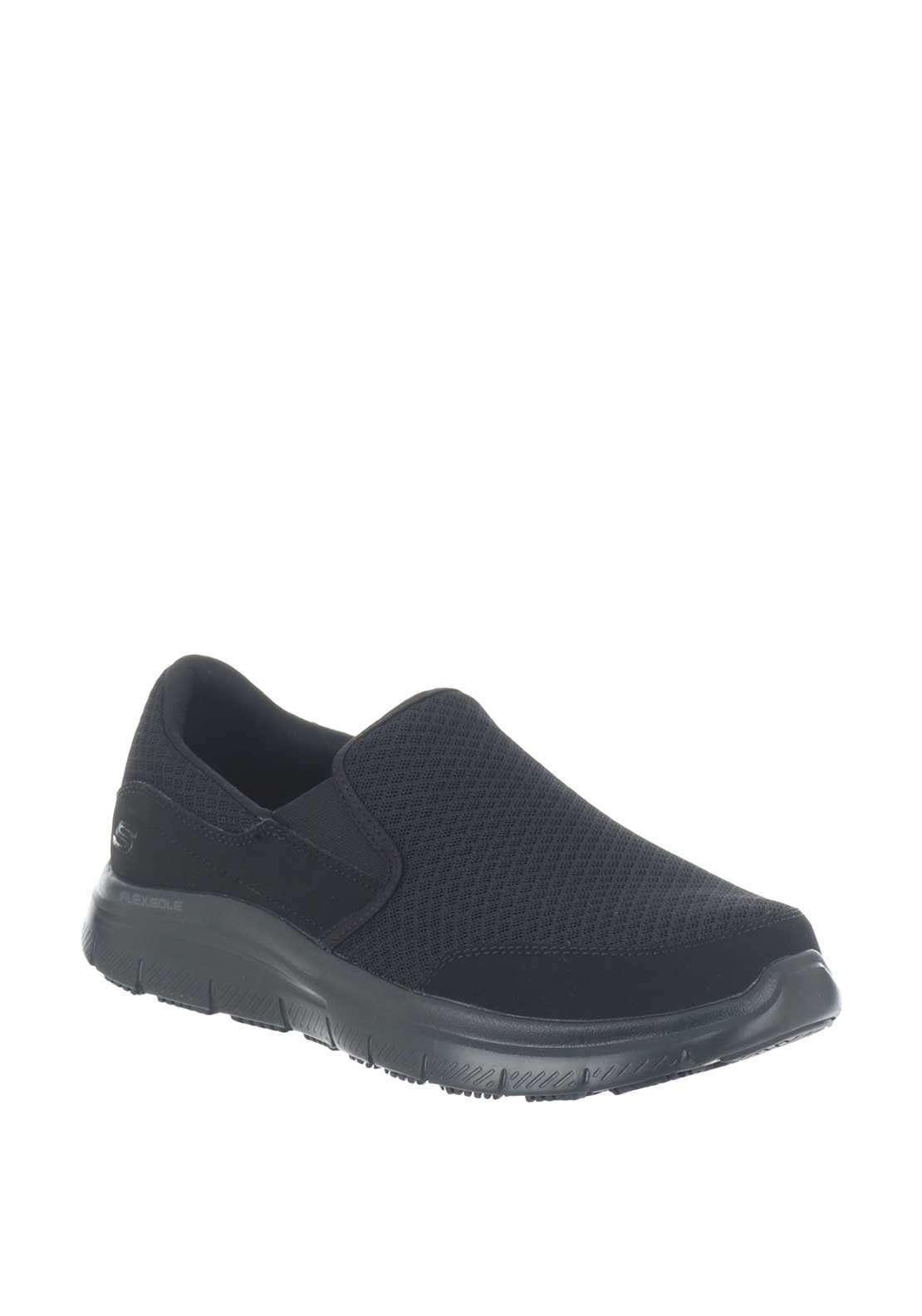 black memory foam skechers