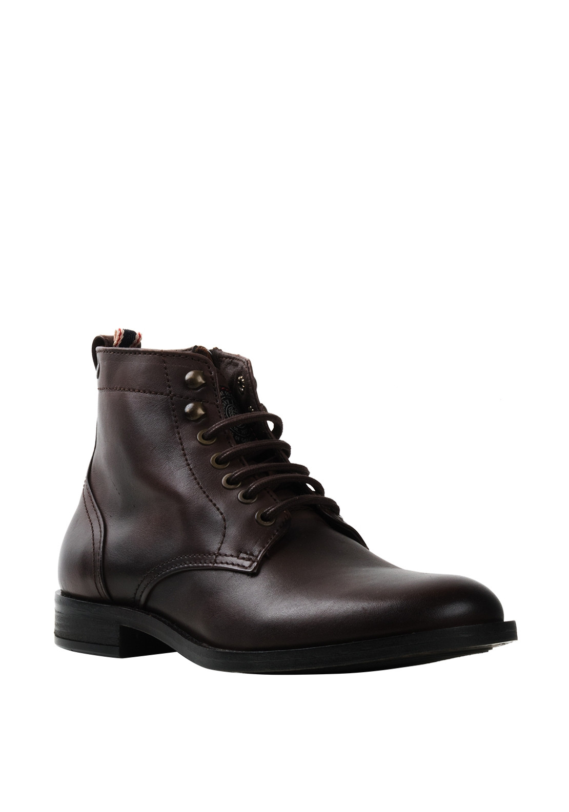 Sneaky Steve Solitude Leather Boot, Brown