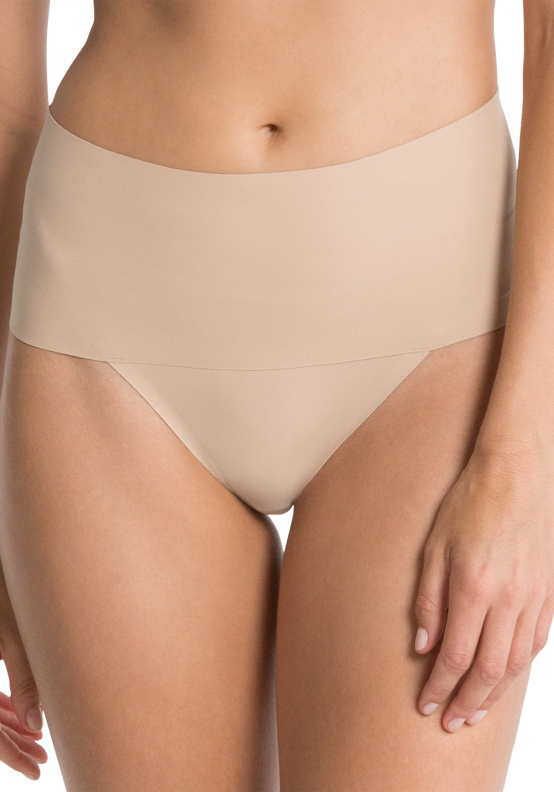 Spanx Undie-tectable Thong, Soft Nude