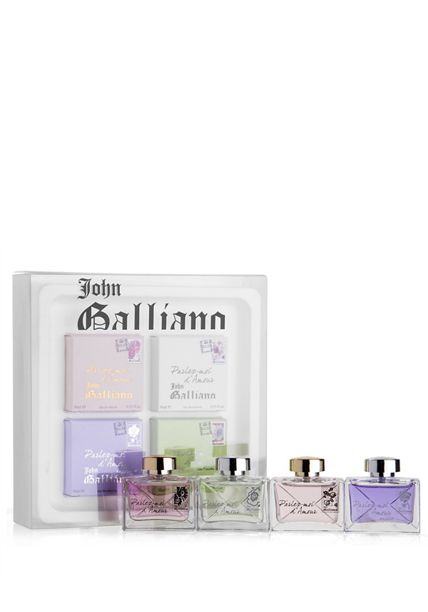 John Galliano Parlez Moi d ´Amour Set, 4x 10ml
