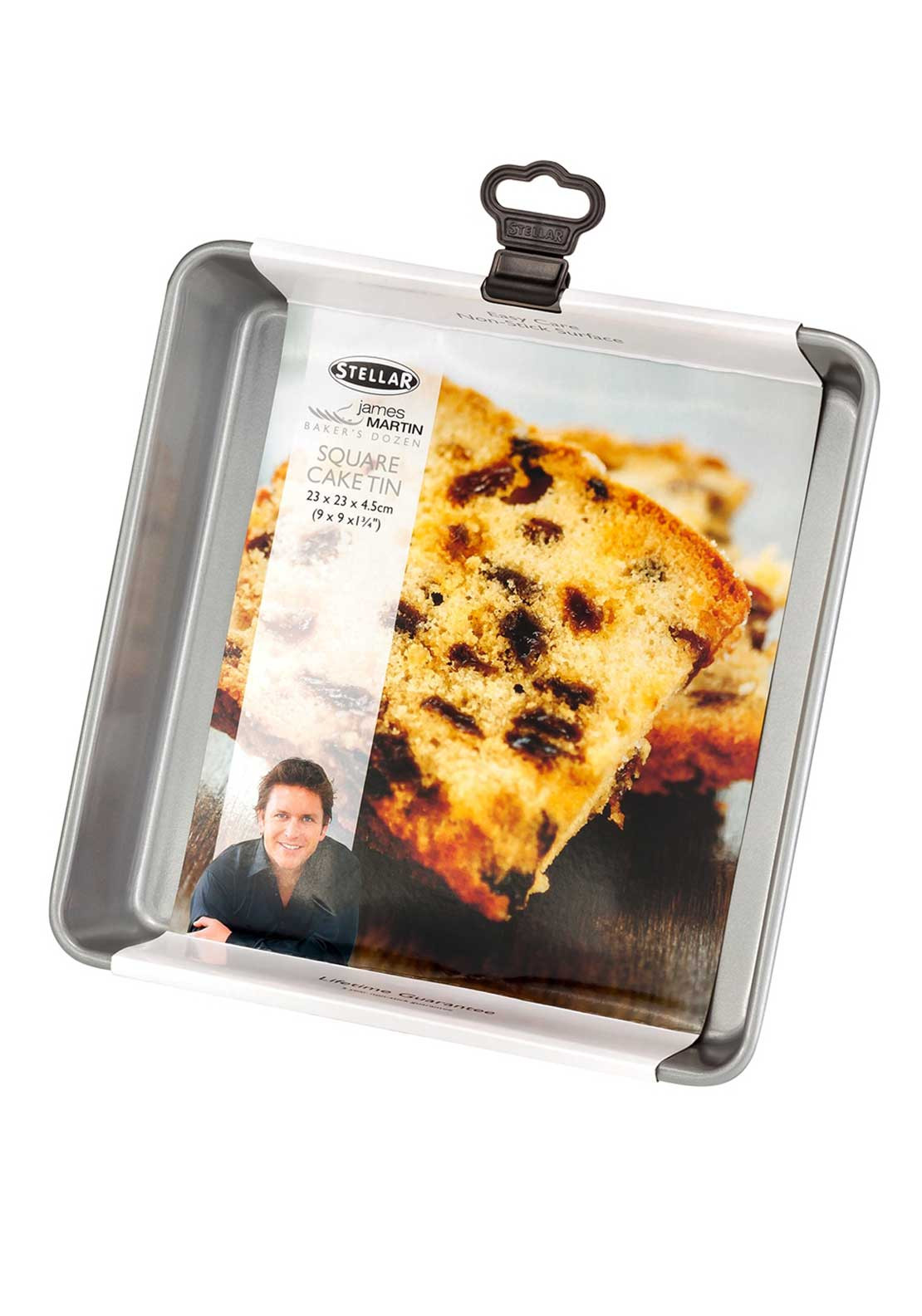 Stellar James Martin 23cm Square Cake Tin