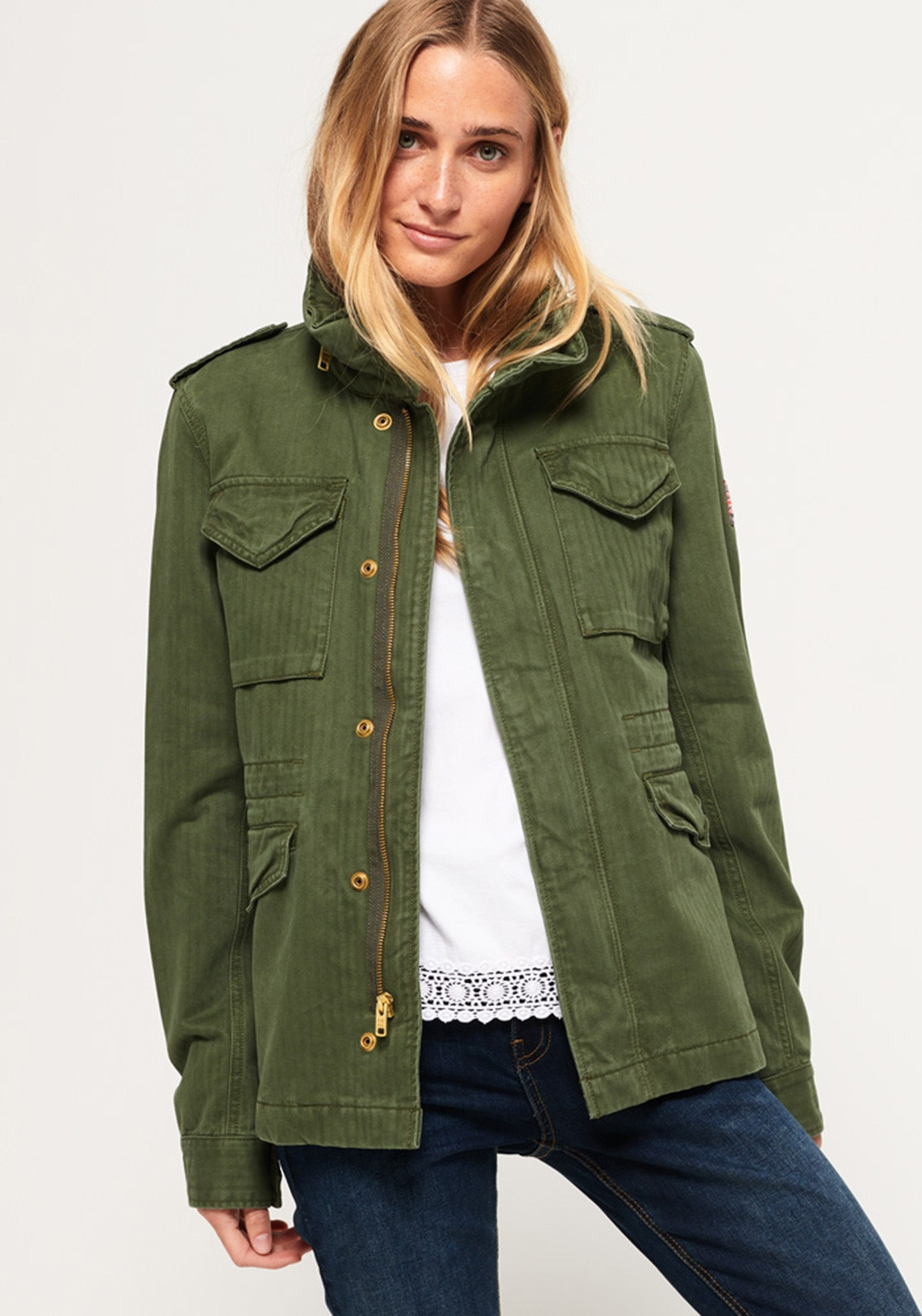 Superdry Womens Rookie Military Jacket 3311adc3b