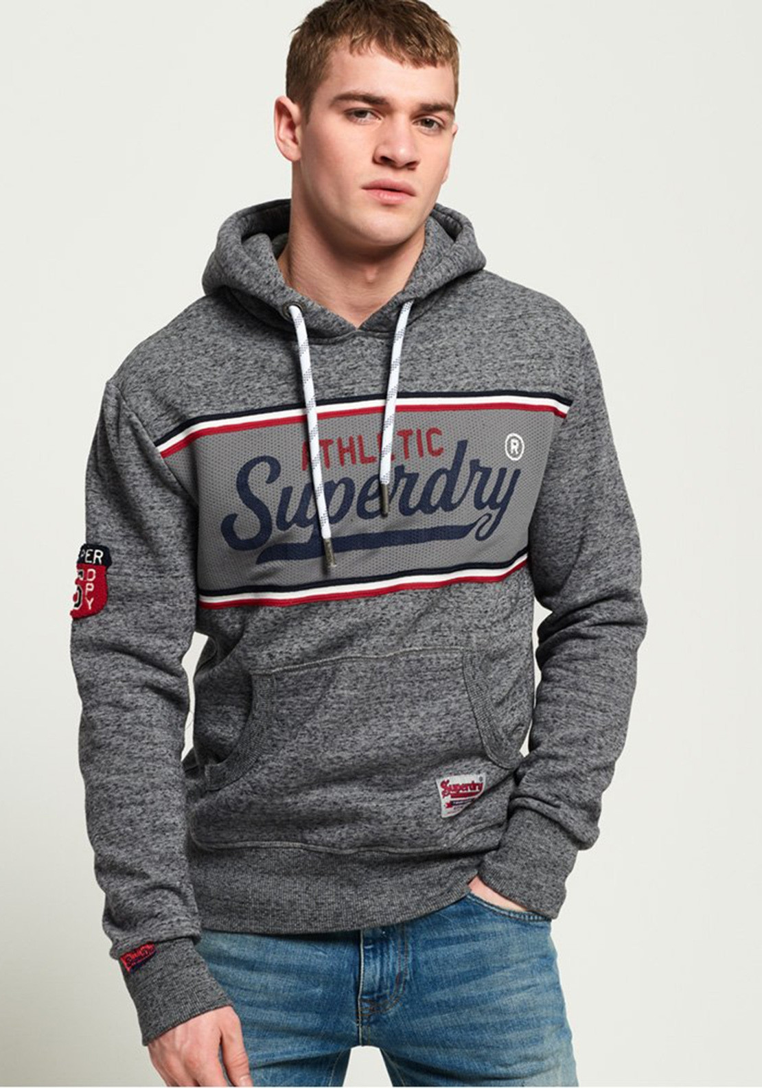 410060bb3f0559 Superdry Men s Inter State Hoodie