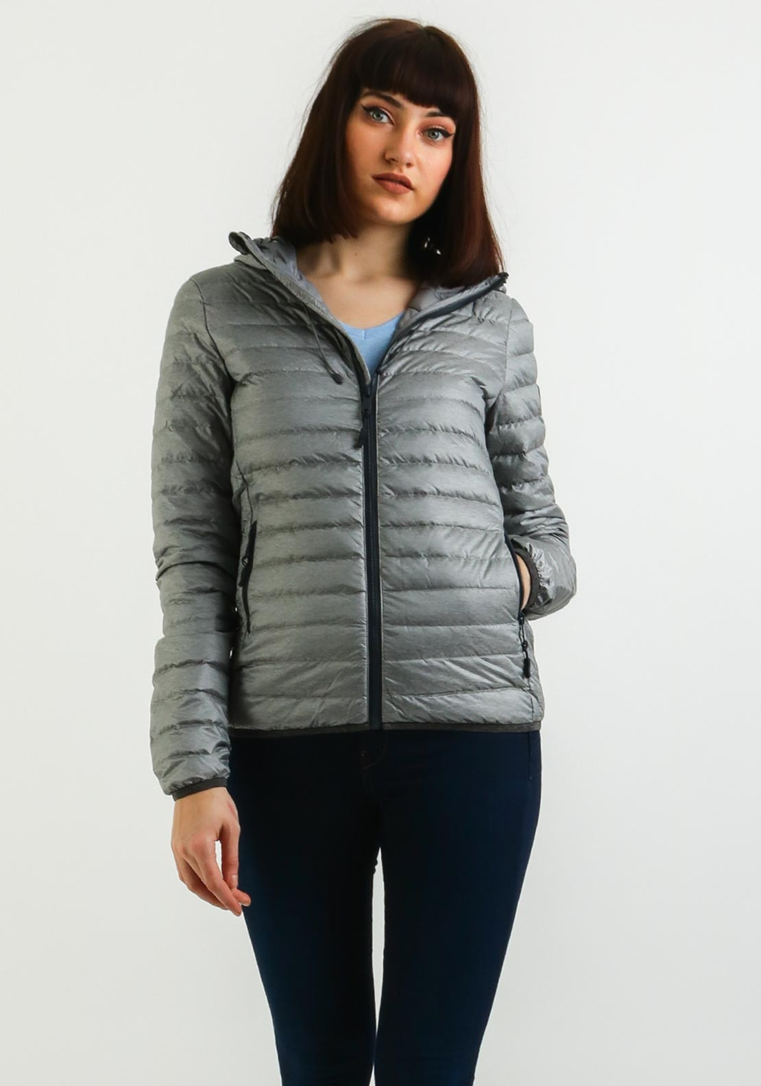 c10375e0071c Superdry Womens Core Down Hooded Jacket