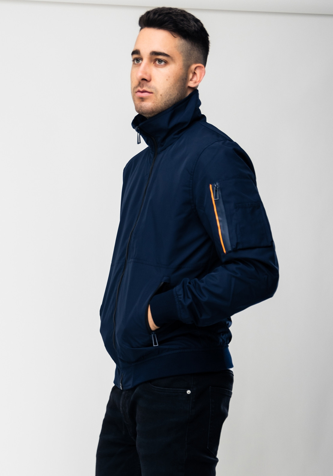 super specials top-rated authentic buying now Superdry Moody Light Bomber Jacket, True Navy