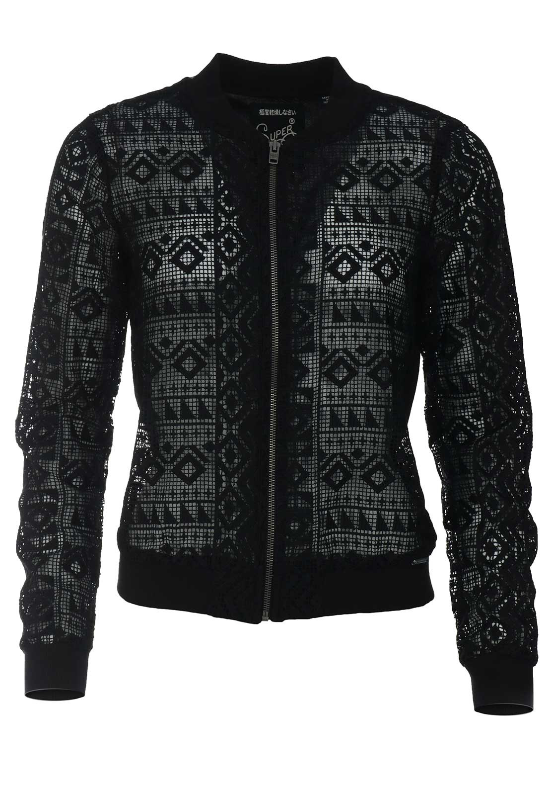 ffd06d8619951 Superdry Womens Geo Embroidered Bomber Jacket