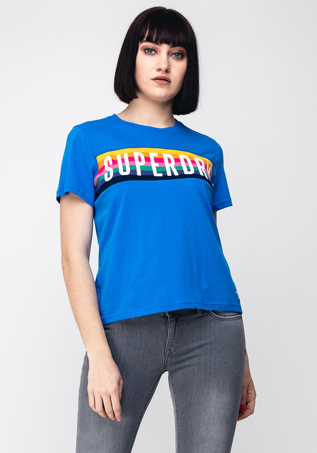 764db25bd Superdry Womens Rainbow Graphic T-Shirt, Blue. Be the first to review this  product