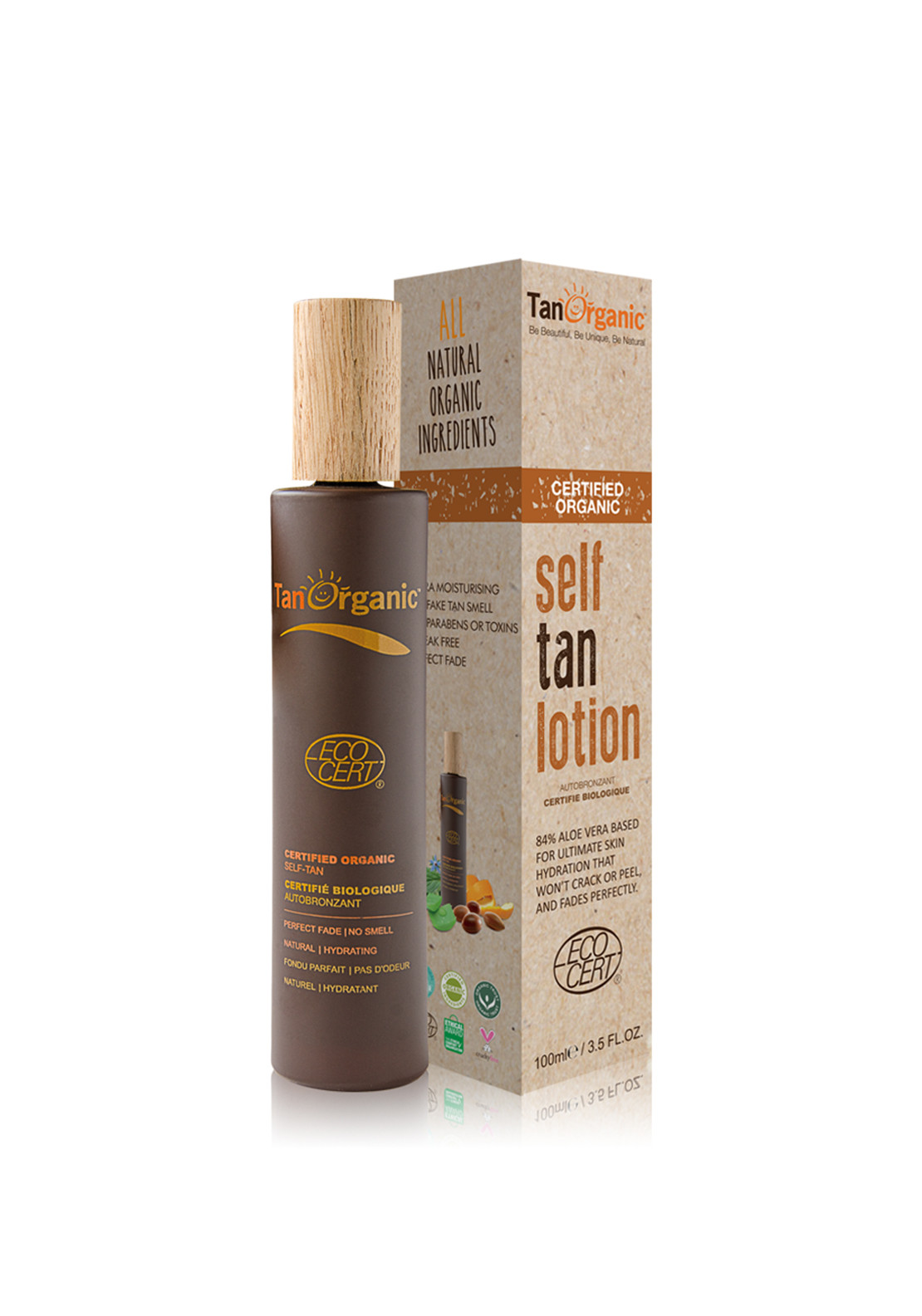 Tan Organic Self Tan Lotion, 100ml