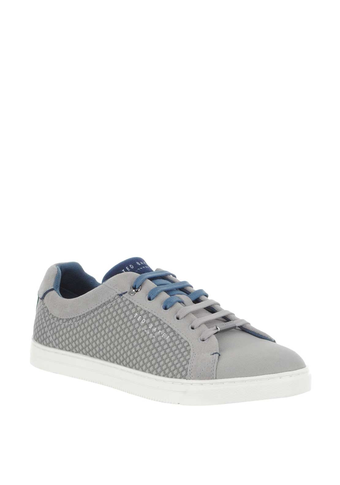Ted Baker Suede Patterned Trainers