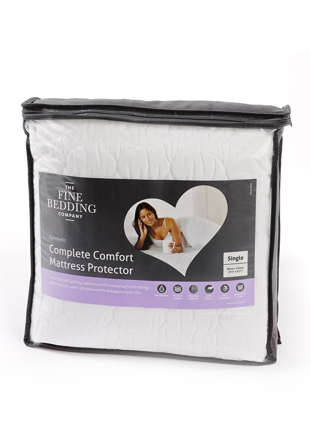 The Fine Bedding Company Complete Comfort Mattress Protector