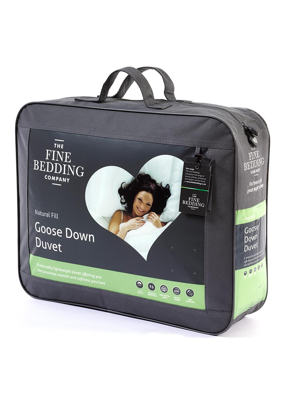 The Fine Bedding Company Goose Down Duvet 10.5 Tog
