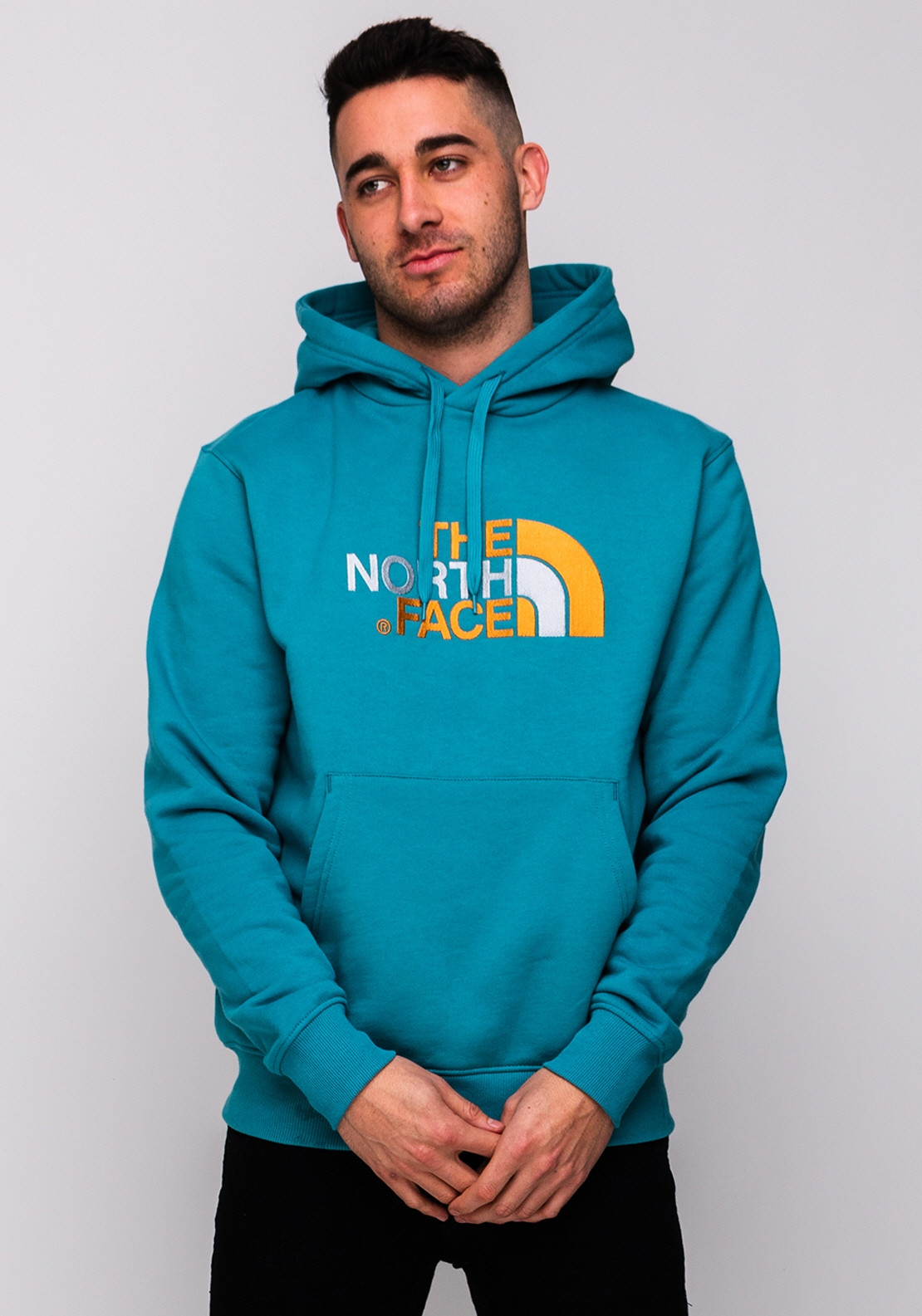 0b27c37b0 The North Face Mens Drew Peak Hoodie, Storm Blue