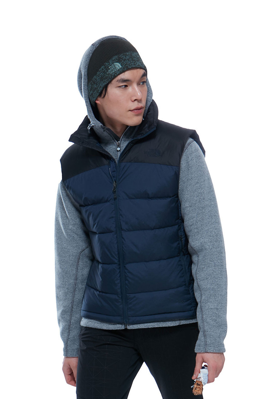 The North Face Mens Nuptise 2 Vest, Navy