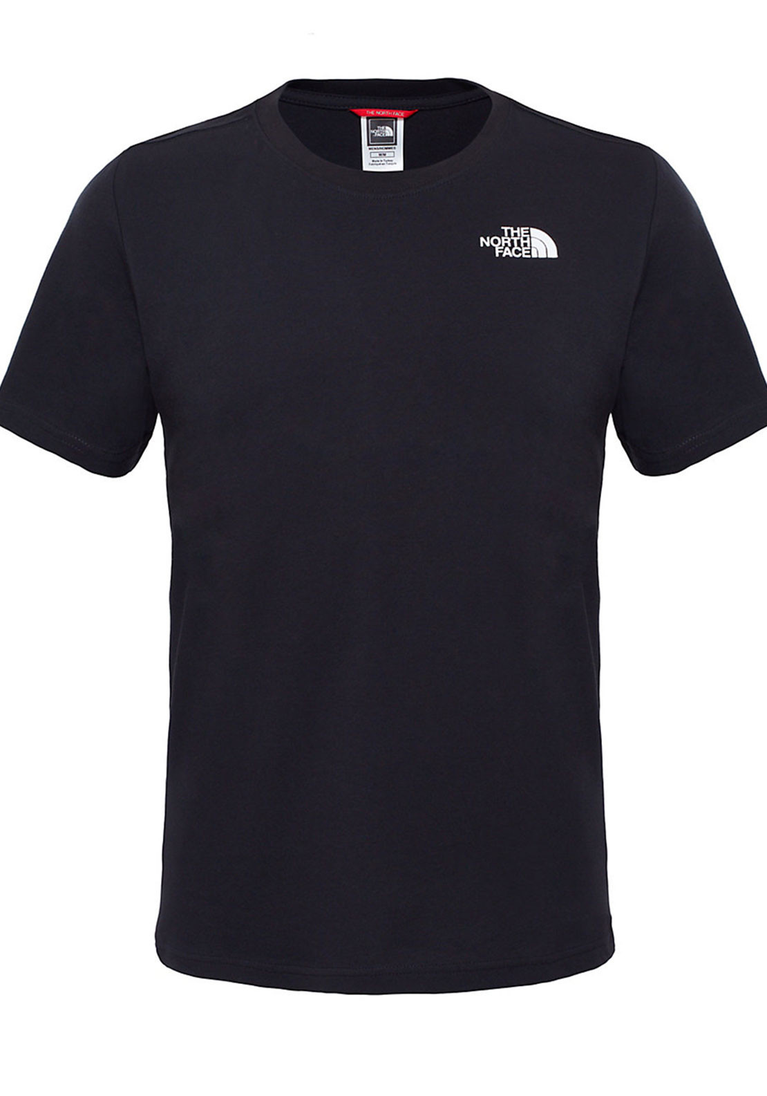 The North Face Mens Red Box Tee, Black