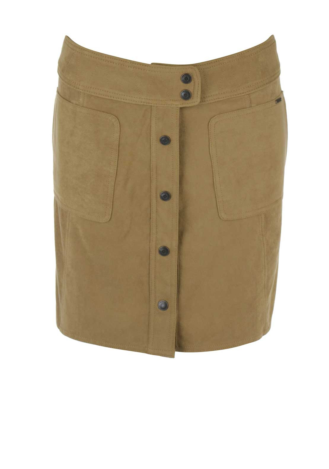 Tiffosi Womens Carolyn Skirt, Tan