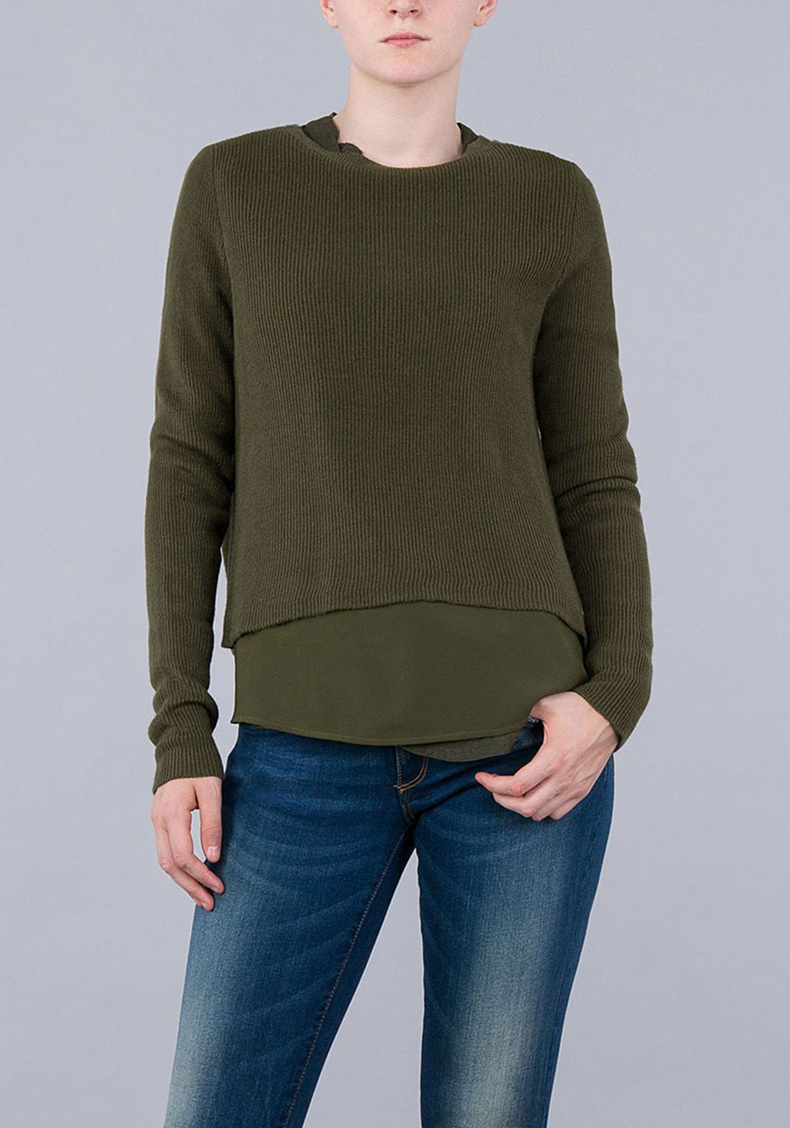 Tiffosi Womens Charlotte Jumper, Green