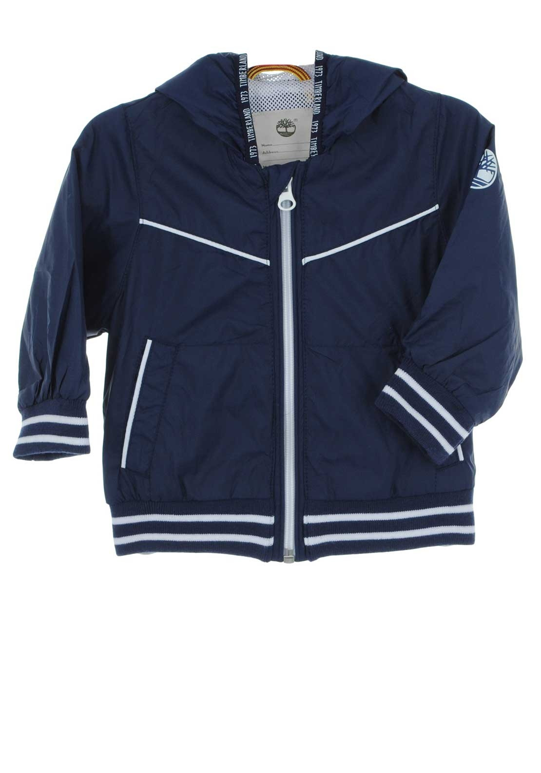 921075b174e2a Timberland Baby Boys Windbreaker Jacket, Navy. Be the first to review this  product