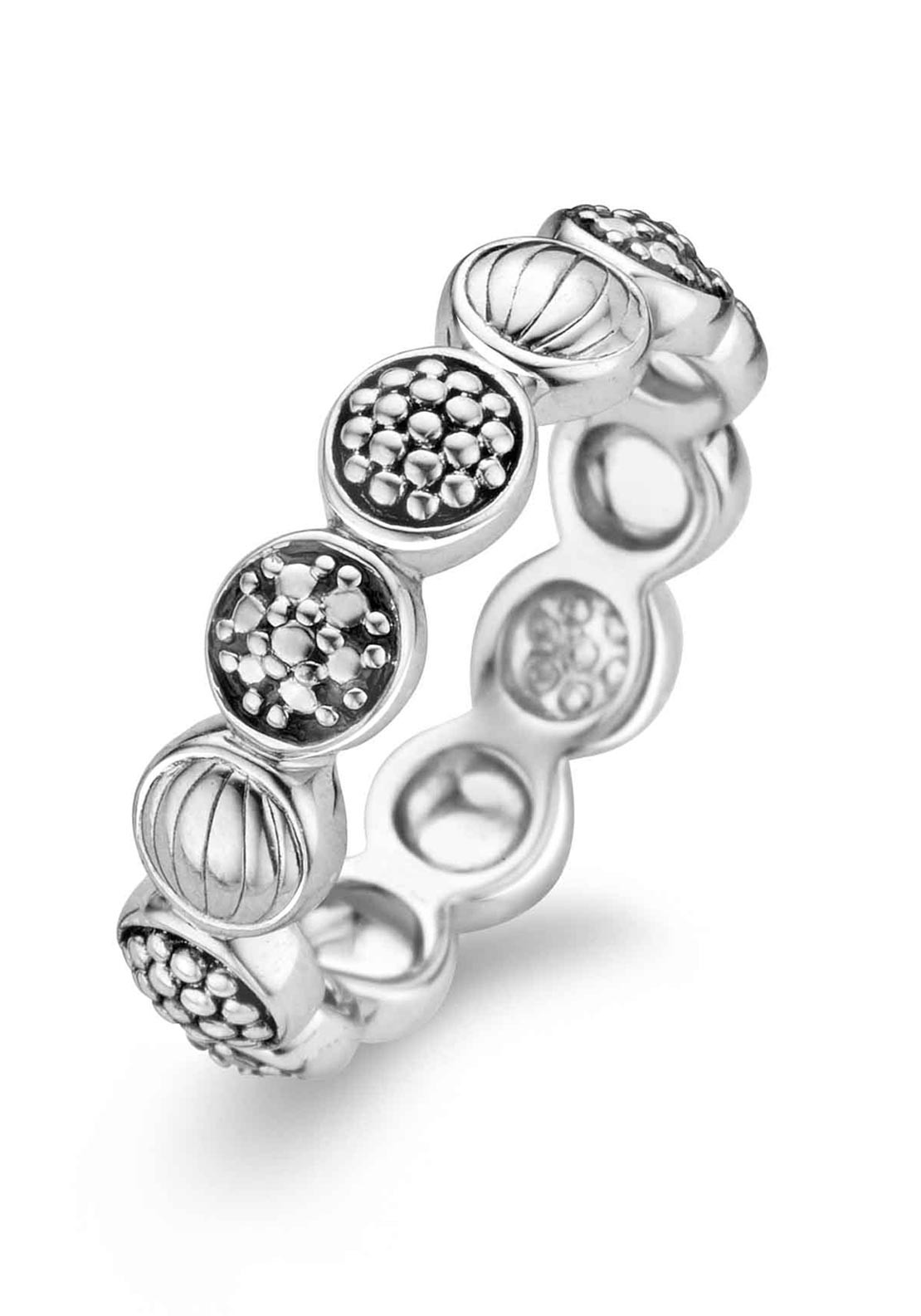 Ti Sento Milano Sterling Silver Ring, Size N