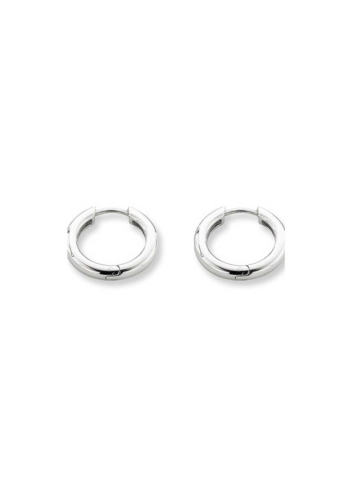 Ti Sento Sterling Silver Small Hoop Earrings