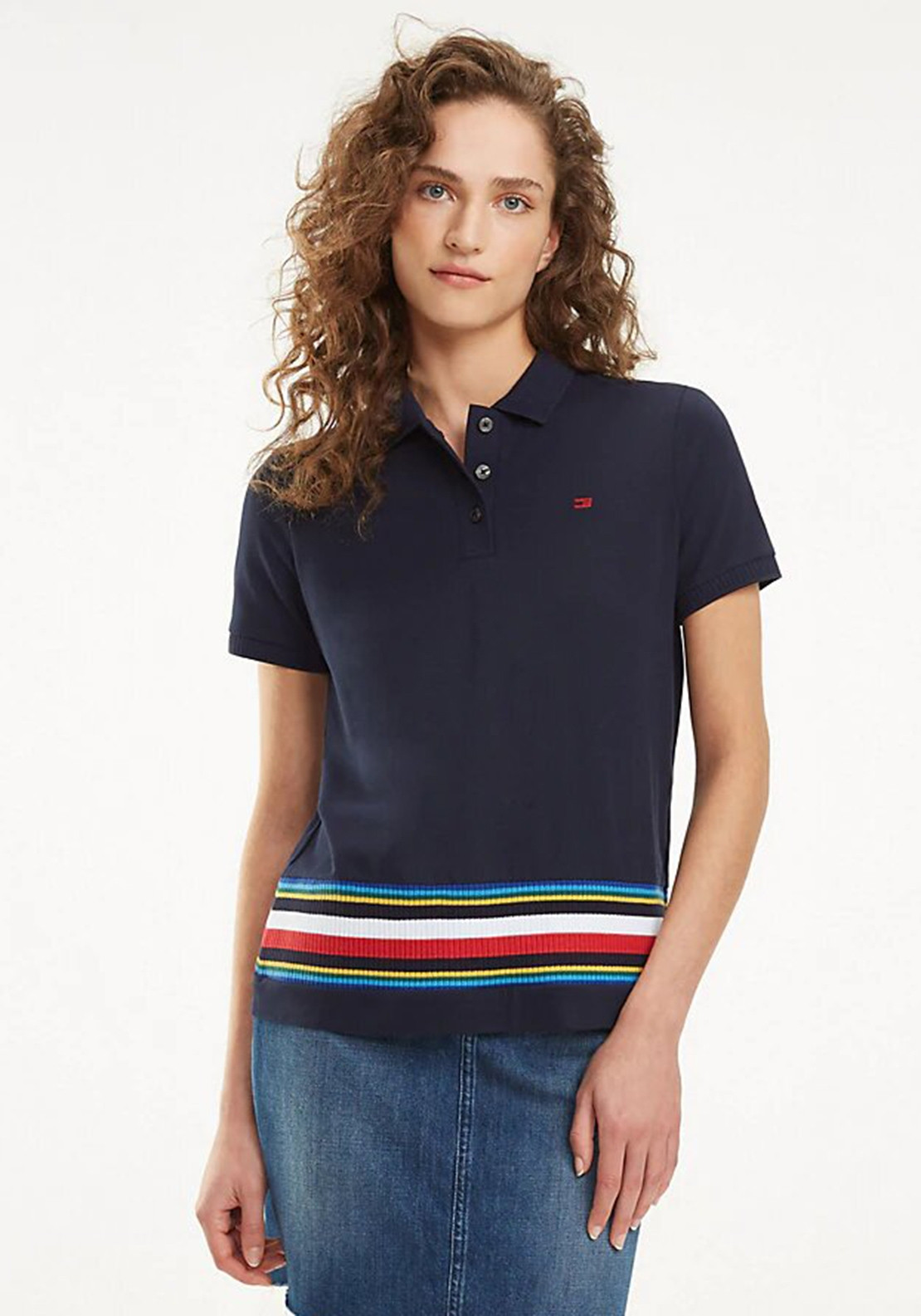 2cf639226f959 Tommy Hilfiger Womens Tali Polo Shirt