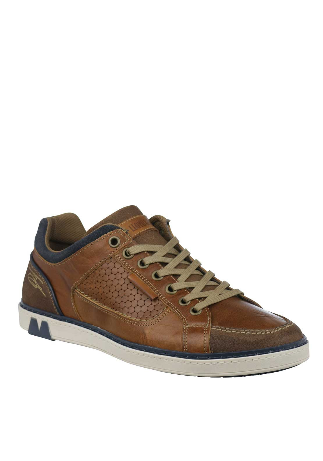 Tommy Bowe Barritt Leather Trainers, Tan