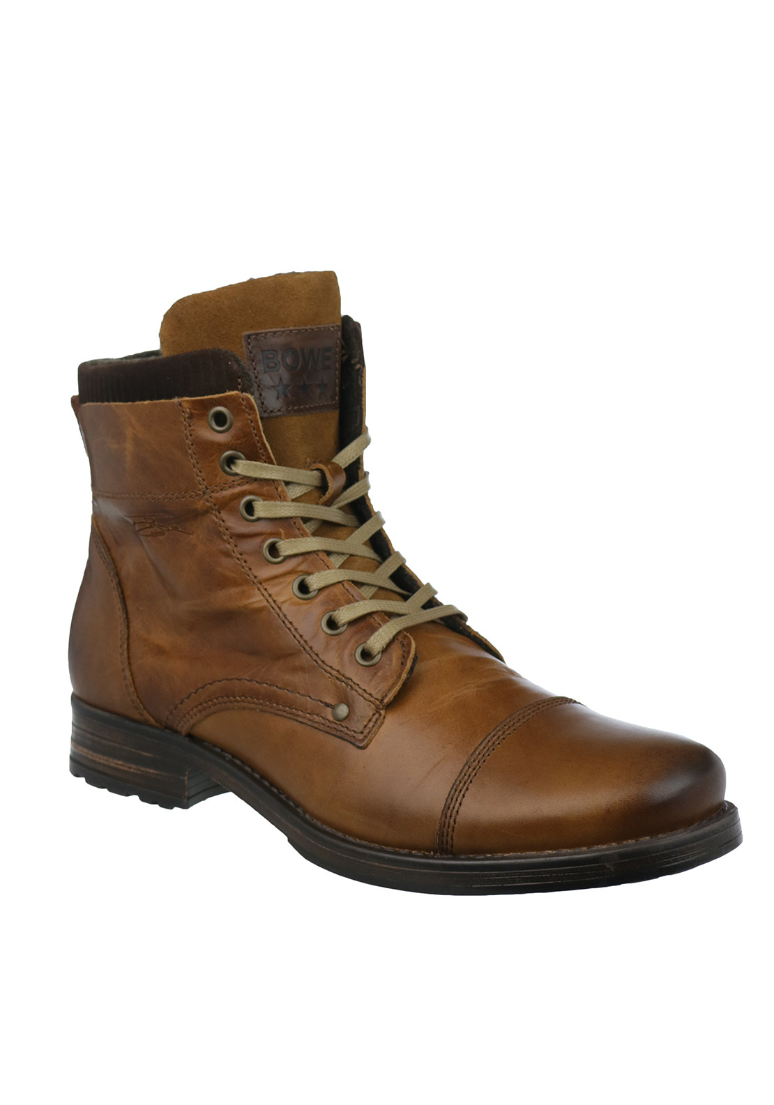 Tommy Bowe Denton Leather Boots, Tan