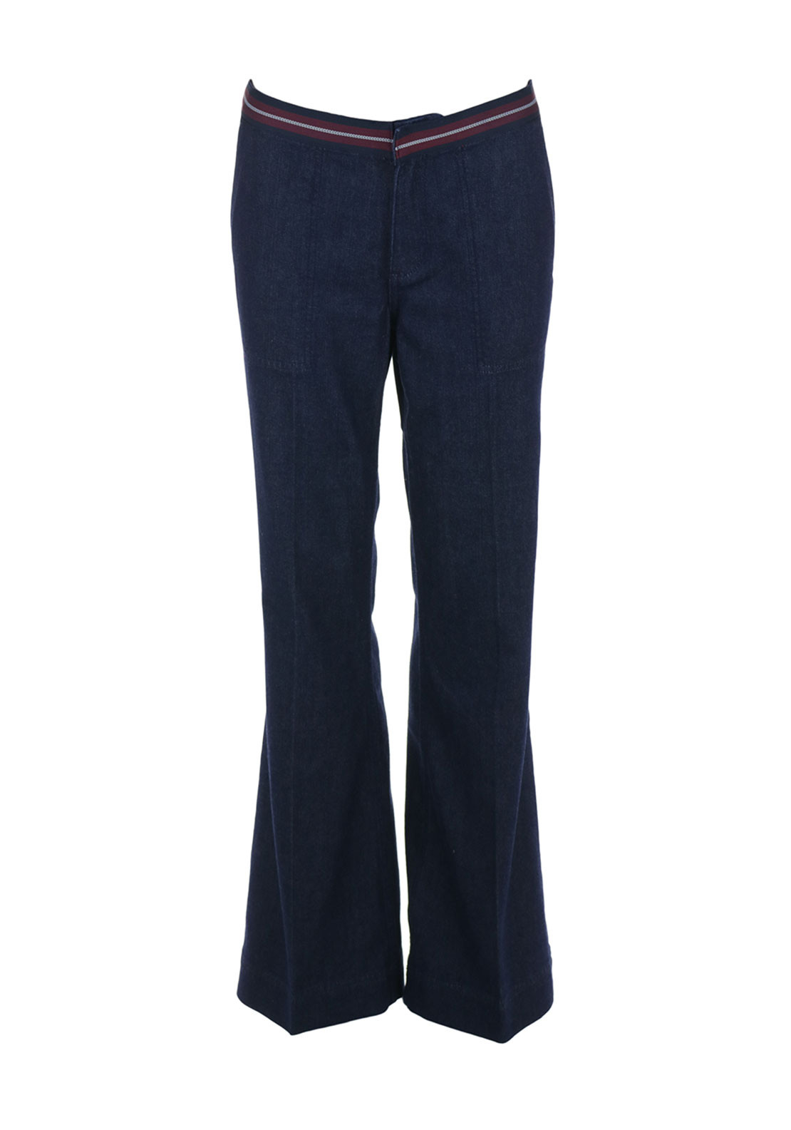 Tommy Hilfiger Womens Vanessa Flared Jeans, Navy
