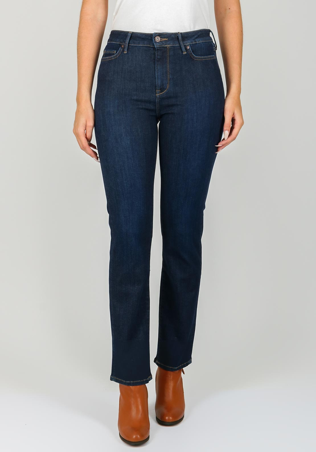 f0a1068a Tommy Hilfiger Womens Lisbon Straight Jeans, Navy. Be the first to review  this product