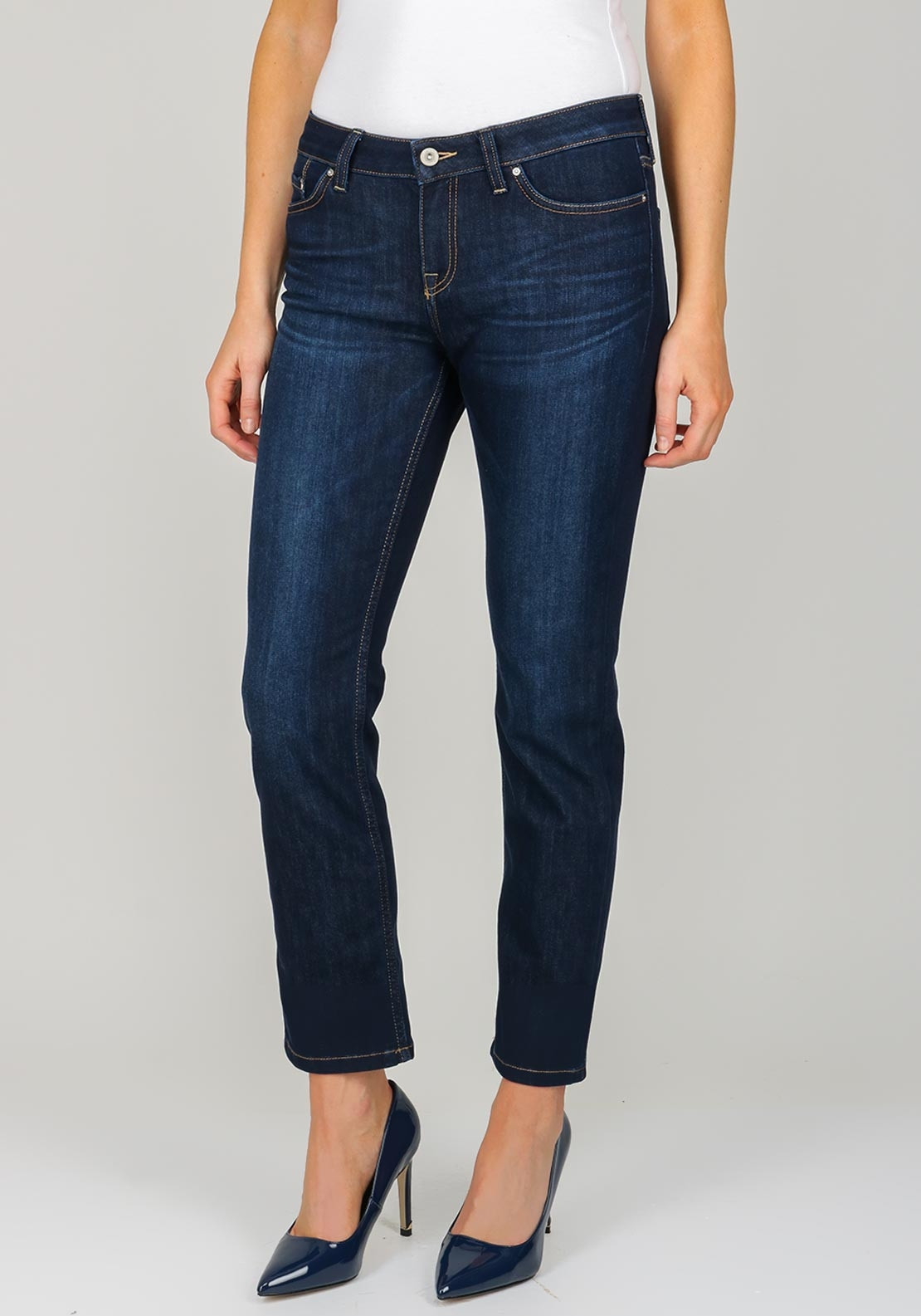 62b2f988 Tommy Hilfiger Womens Rome Straight Leg Jeans, Navy. Be the first to review  this product