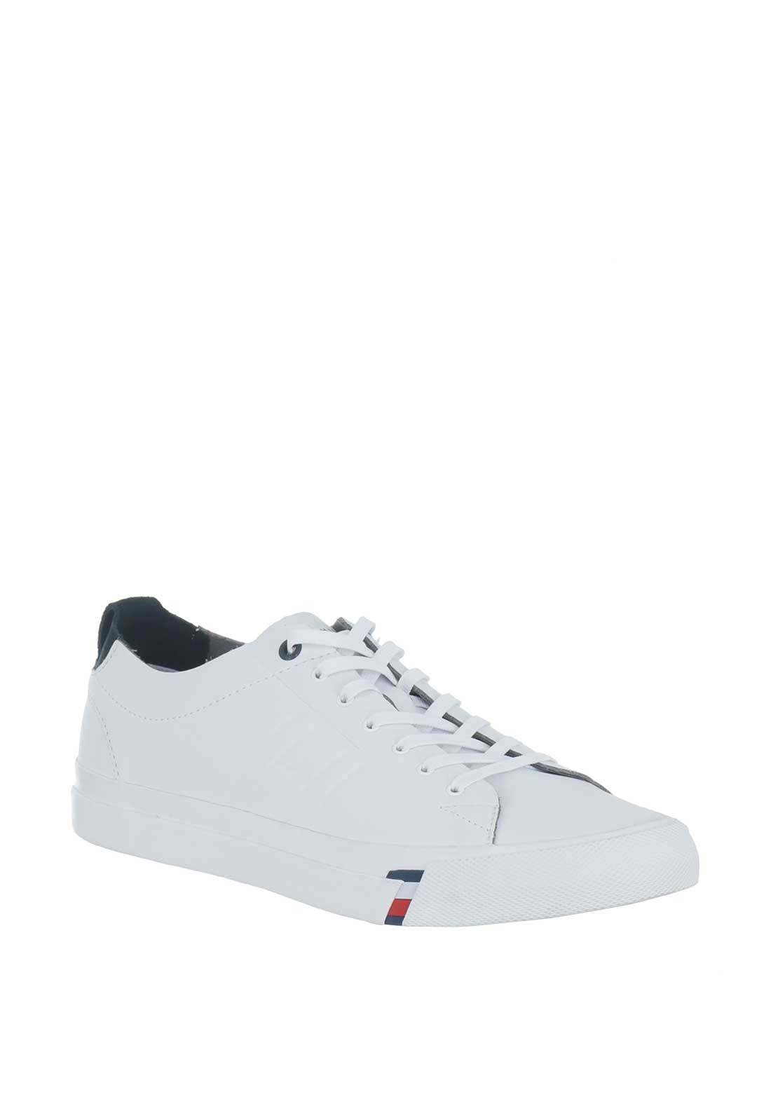 7f834675a Tommy Hilfiger Men s Leather Trainers