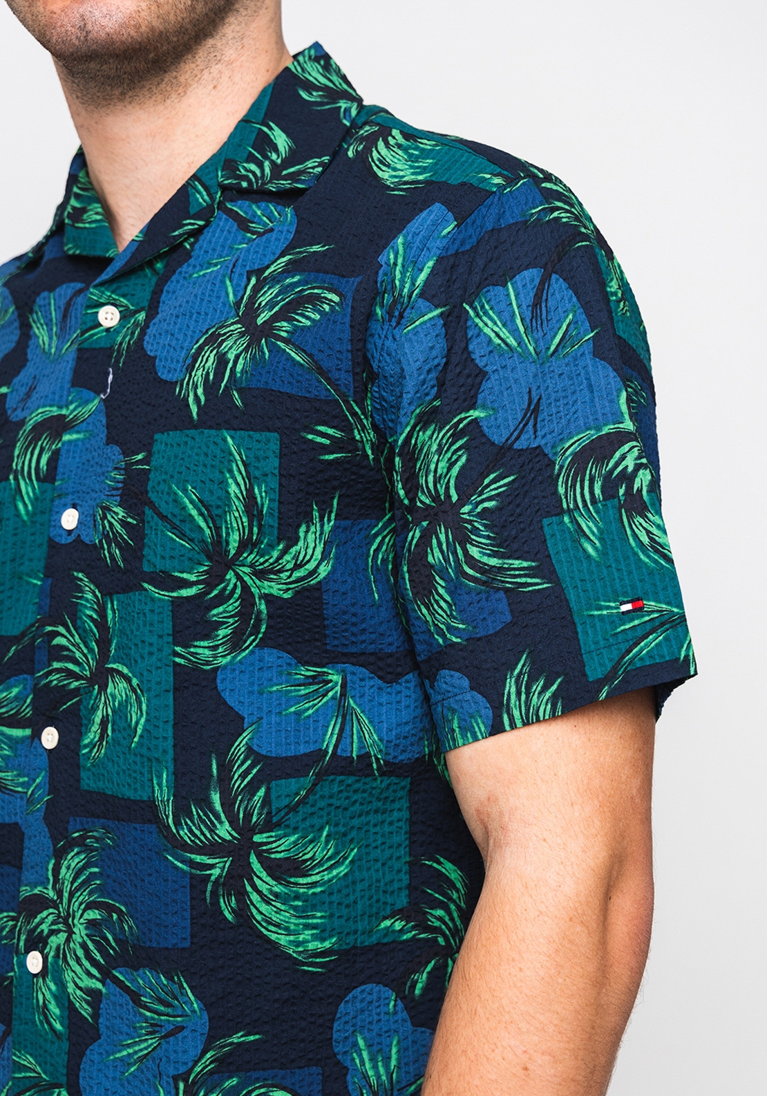 7833b908 Tommy Hilfiger Palm Tree Print Shirt, Night Sky. Be the first to review  this product