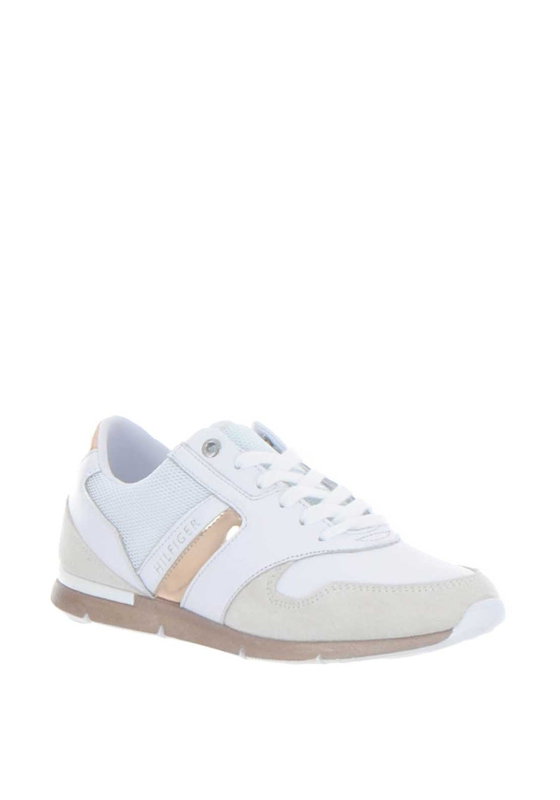 c27256533 Tommy Hilfiger Womens Iridescent Light Trainers