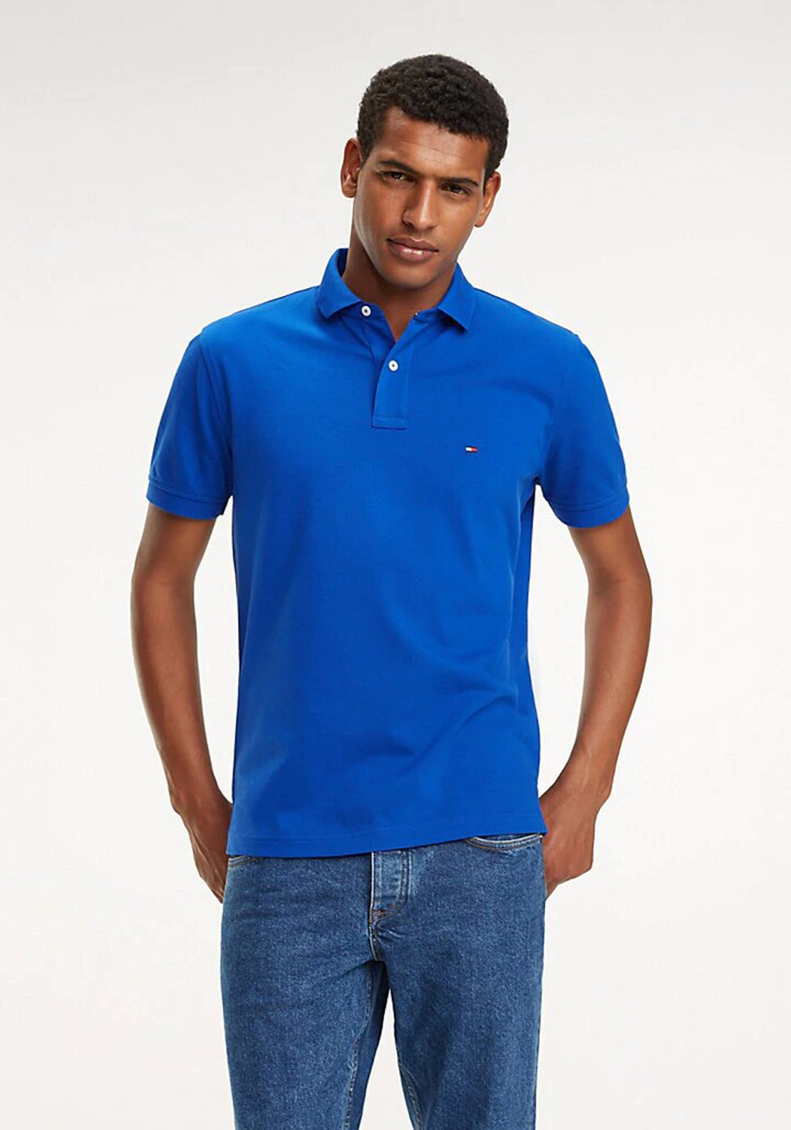 6ad4f204 Tommy Hilfiger's Surf The Web Polo Shirt, Blue. Be the first to review this  product