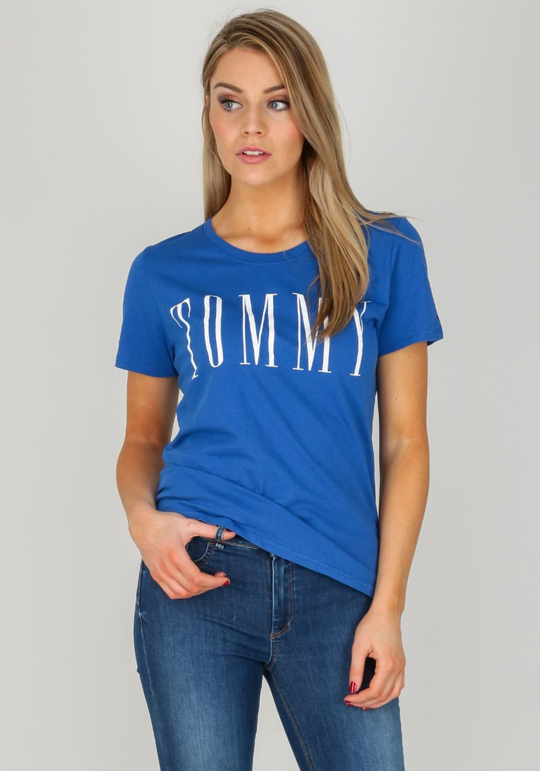 225d8f580 Tommy Jeans Womens Tommy T-Shirt, Blue. Be the first to review this product