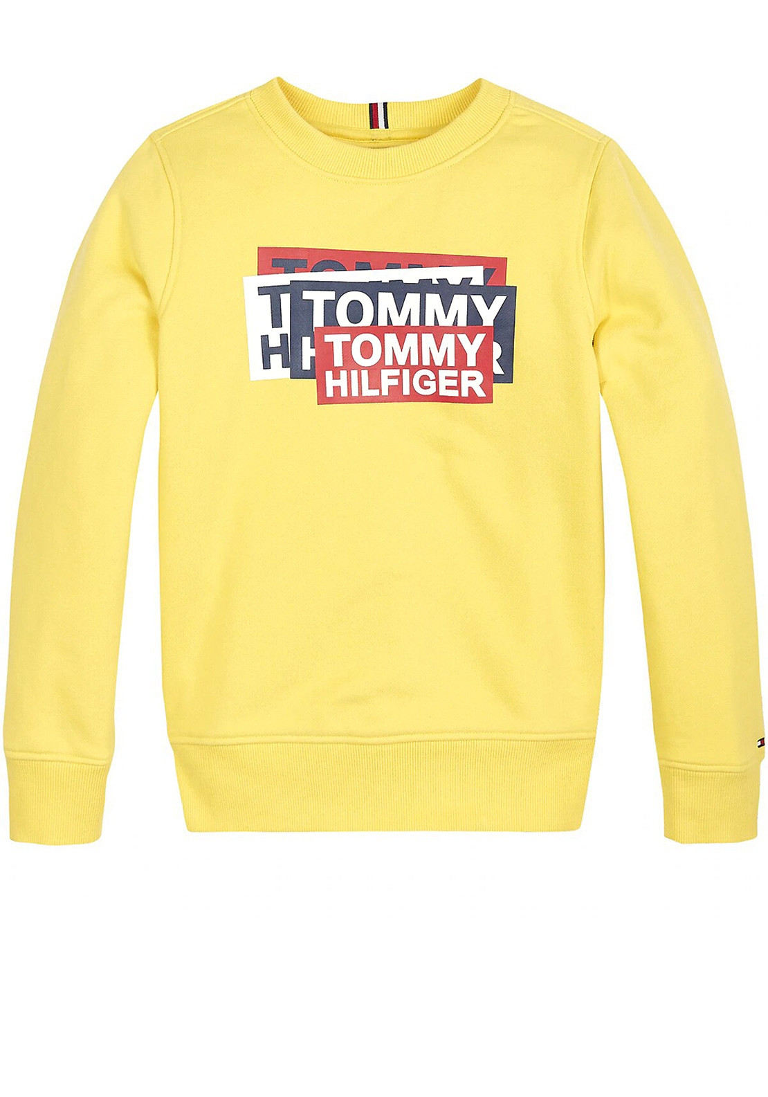 limited sale detailed images elegant in style Tommy Hilfiger Boys Gaming Logo Sweatshirt, Yellow