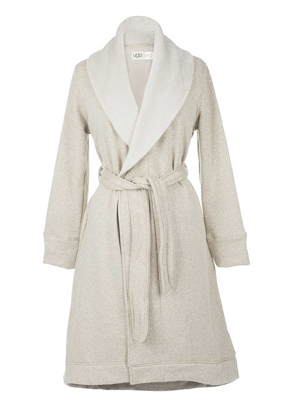 UGG Australia Womens Duffield Dressing Gown, Oatmeal