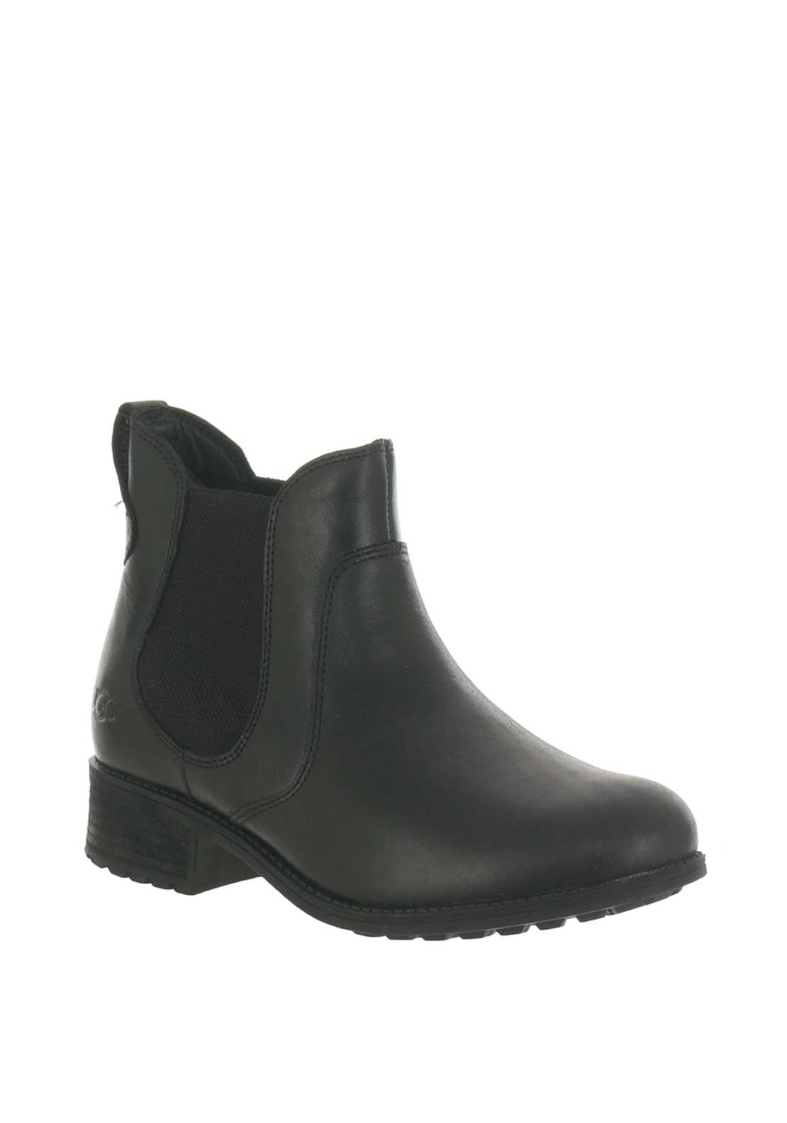 68b6cb490ef UGG Australia Womens Bonham Leather Boots, Black