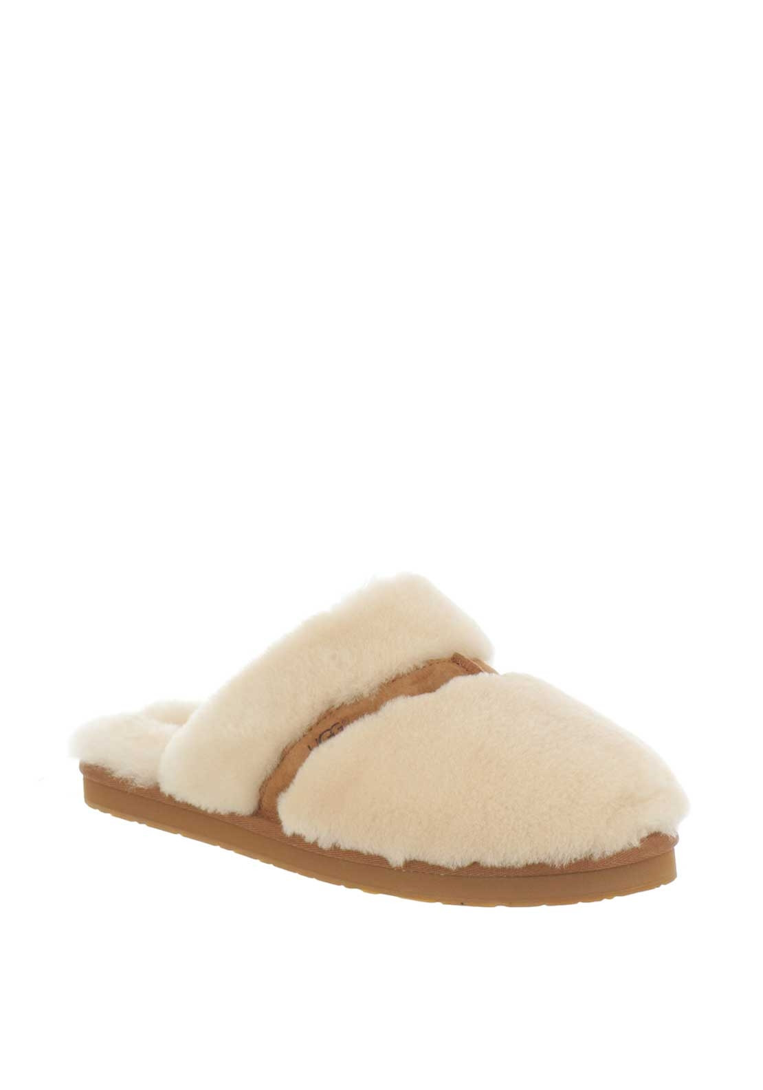 UGG Australia Womens Dalla Sheepskin Slippers, Cream