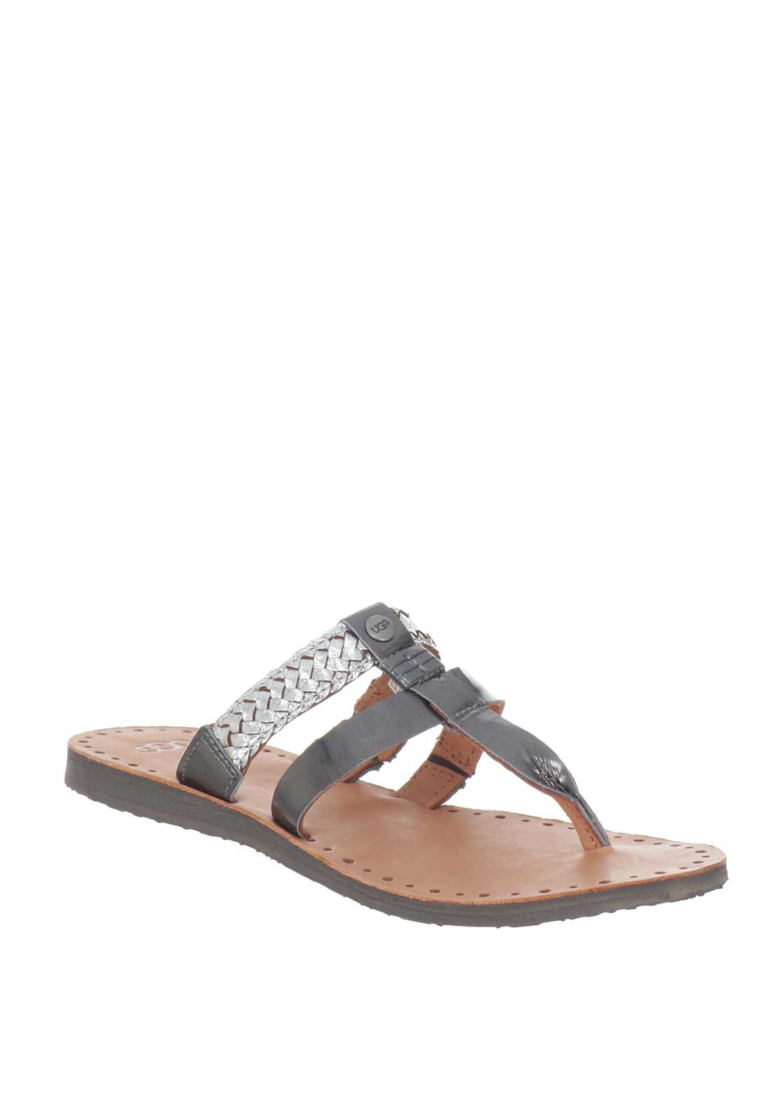 Ugg Australia W Audra Sandals Color: Silver