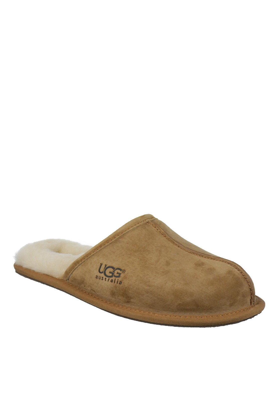 32b69de70c668 Ugg Australia Mens Scuff Suede Slippers, Chestnut. Be the first to review  this product