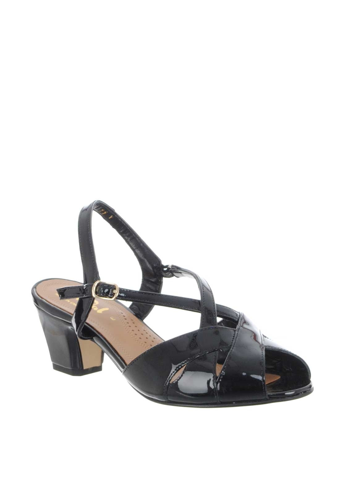 1730263e8a Van Dal Libby Leather Patent Sandals