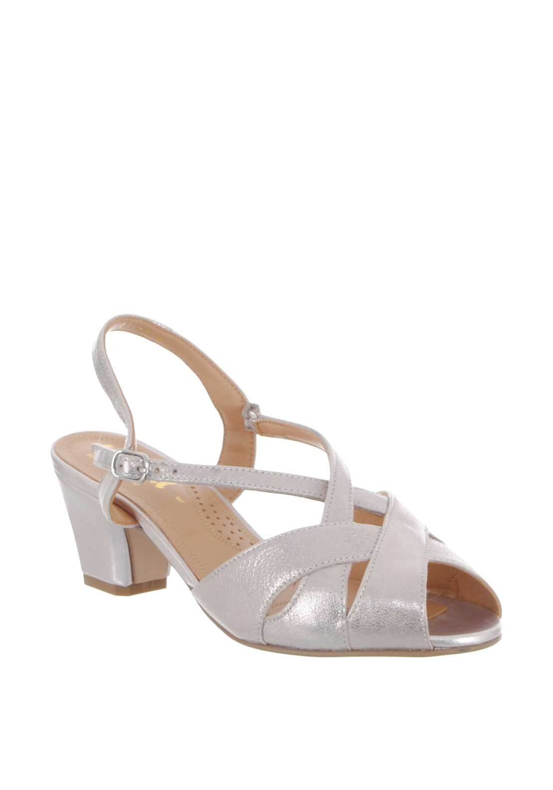 f91eecb7d5f74 Van Dal Libby Leather Patent Sandals, Pink. Be the first to review this  product
