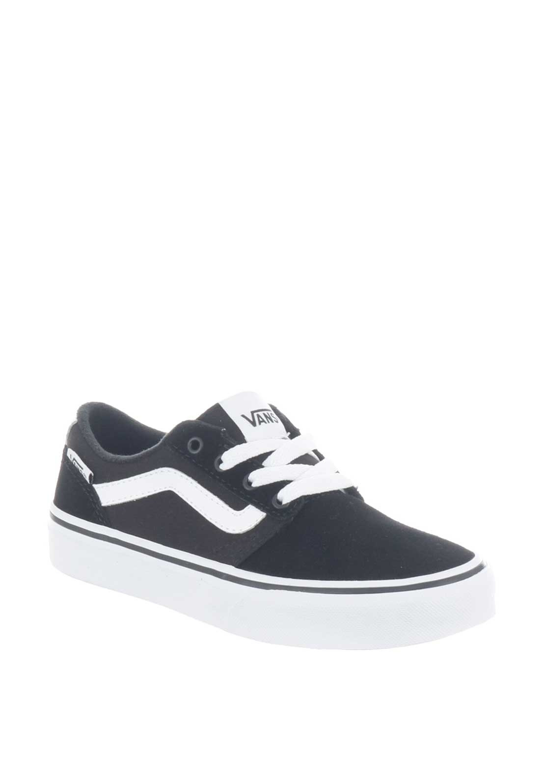 d3be64b3a3 Vans Boys Suede Chapman Stripe Trainers