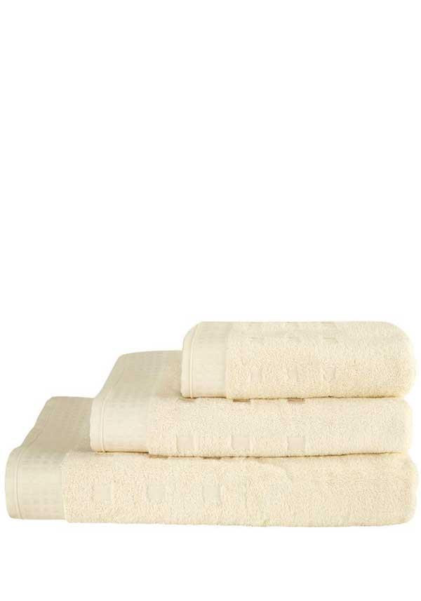 Vossen Country Style Towel Range, Ivory Cream