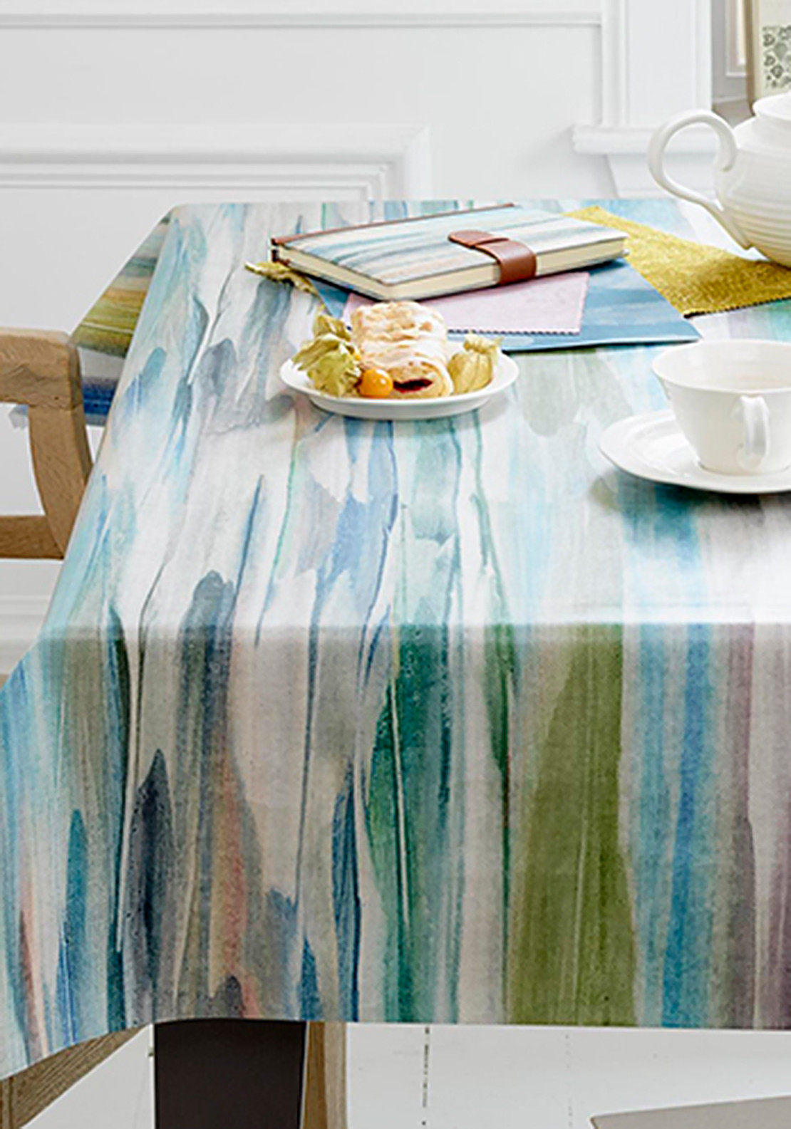 Voyage Maison Oil Cloth Table Cover 180 X 270