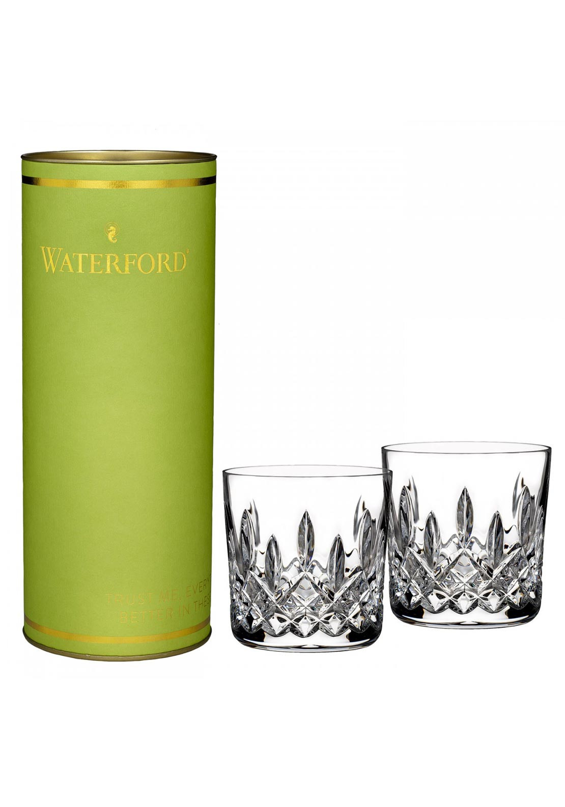 Waterford Crystal Lismore 9oz Lismore Tumbler, Set of 2