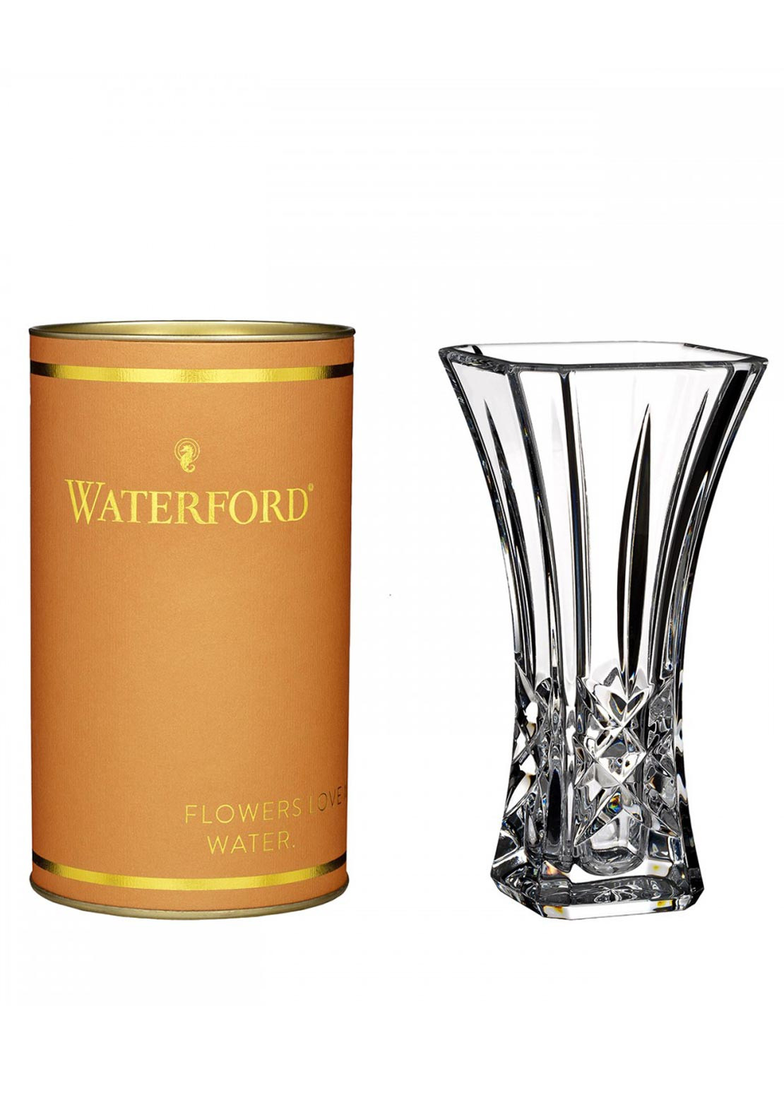 "Waterford Crystal Gesture 6"" Bud Vase"