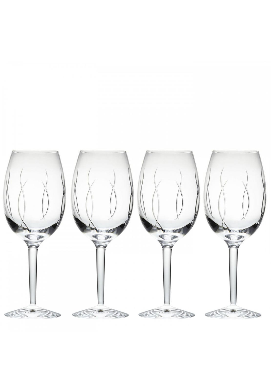John Rocha at Waterford Weft Goblet Wine Glasses, Set of 4